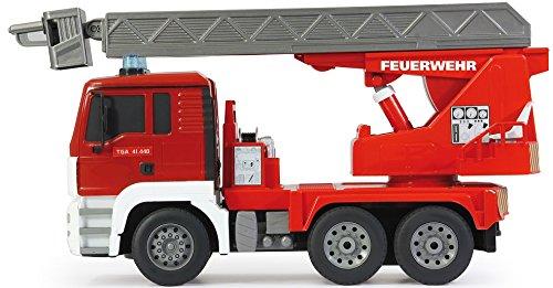 RC Auto kaufen LKW Bild 2: RC MAN Feuerwehr 27MHz ferngesteuert - Motorsound, Hupe, Licht INKL. BATTERIEN - komplett Set*