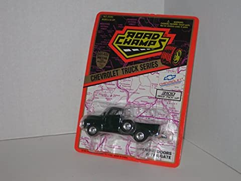 Road Champs Die Cast Collectible Truck Model # 6482: 3100 Series Chevrolet Pick-up, 1/43rd Scale by Road Champs by Road Champs