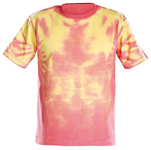 Preisvergleich Produktbild infactory T-Shirt verändert Farbe: Farbwechsel-T-Shirt: Wechselt von hellrot zu gelb, Gr. XXL (T-Shirts verändern Farben)