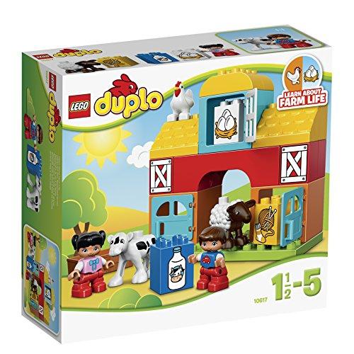 Lego 10617 Duplo Mein erster Bauernhof, Lernspielzeug für Kleinkinder
