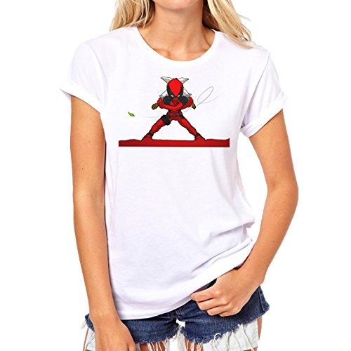 Deadpool Background Herren T-Shirt Grau