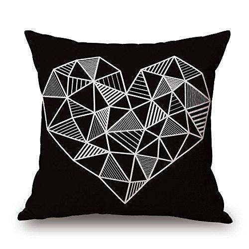 Ginli cuscino o copertura, cuscino coperchio in cotone cuscino vintage cover cuscini divano