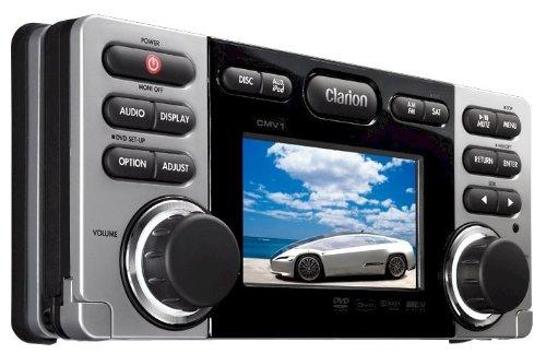 Clarion CMV1 - 2 DIN Marine Radio Wasserdicht, MP3, USB, DVD Marine Radio Gehäuse