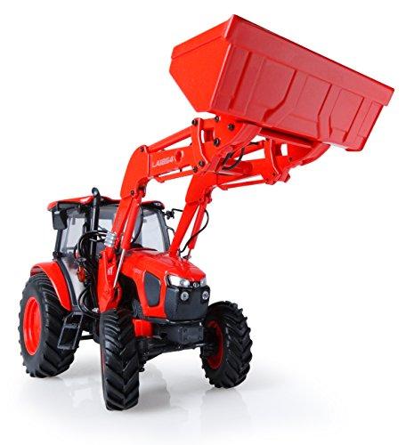 Universal Hobbies-uh5212-Traktor Kubota M5111mit Ladegerät vor-Orange-Maßstab 1: 32 - Kubota