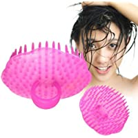 Tocoss(TM) Randoml Color Shampoo Haare waschen Massageb¨¹rste Massage Comb Scalp Dusche K?rper
