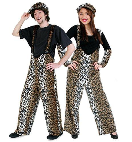 Leopardenkostüm ' Plüschhose Leo ' für Erwachsene