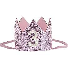 Amazon.es: corona cumpleaños - 3 estrellas y más