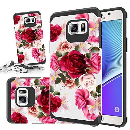 Samsung Galaxy Note 5Handy Schutzhülle [Storm kaufen] Hard & Soft Stabile Hybrid Gel Strass Bling Diamant Armor Defender [Anti Scratch] Schutzhülle, Butterfly Bliss (Samsung Virgin Mobile 5)