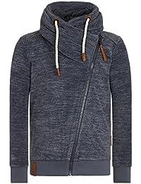 Naketano Male Zipped Jacket Gnadenlos durchgerattert