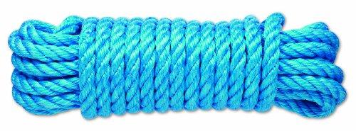 Chapuis PC4 Corde polypropylène torsadée 2,2 T D 12 mm L 7,50 m Bleu