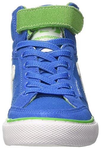 DrunknMunky Boston Classic, Scarpe da Tennis Bambino Blu (Royal/Green)