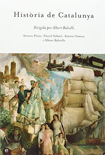 Portada del libro Historia de Cataluña