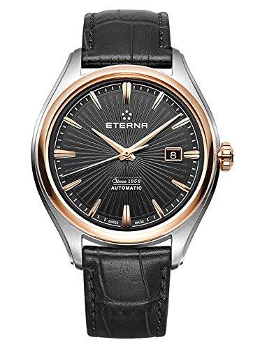 Eterna–Avant-Garde Fecha–Reloj de pulsera analógico automático para hombre 2945.53.41.1337
