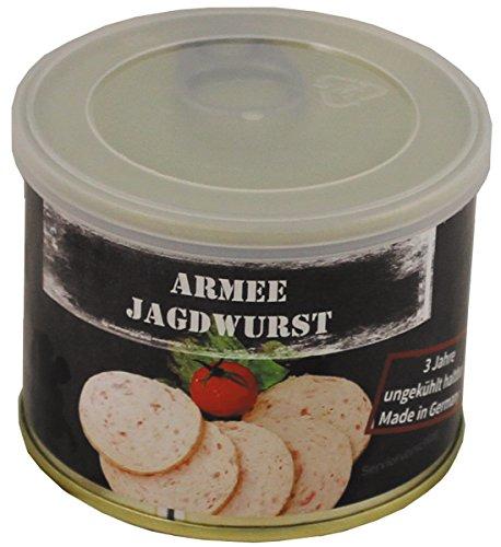 MFH 6 Dosen Armee Jagdwurst, 190 g, 7% Mwst.