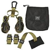 Highplus Fitness Ceinture élastique à Suspendre pour entraînement de Gym, 3
