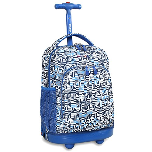 j-world-new-york-sunny-rolling-backpack-geo-blue-one-size