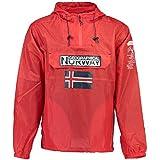 Geographical Norway Herren Regen Jacke BUTAGAZ MEN (XXL, Red)