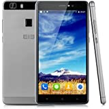 "Elephone M1 - Smartphone libre 4G Lte (Pantalla 5.5"" IPS, Cámara 13.0 Mp, Dual Sim, 16 GB, Android 5.1, Touch ID, Hotspot WIFI GPS), Gris"