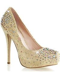Zapatos beige Fabulicious para mujer nKaqjK