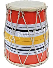 SG Musical Wooden Rope Tune Baby Dholak/Dholki SGM-04