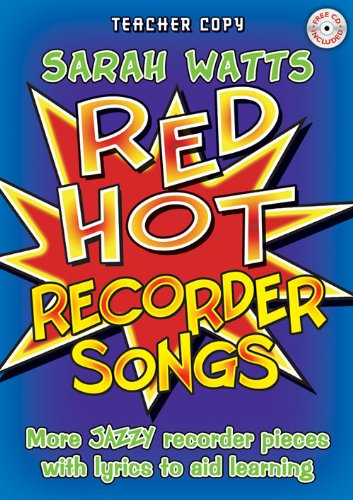 Watts: Red Hot Recorder Songs - Teacher (Book & CD)