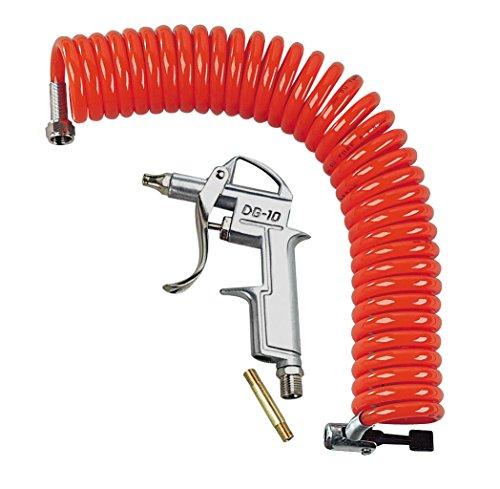 Lampa Luftpistole Set mit Spiralschlauch