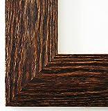 Bilderrahmen Venedig Braun 6,8 - Über 14000 Größen im Angebot zur Auswahl - 64 x 115 cm - Leerrahmen ohne Glas - Maßanfertigung