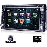 navihouse estéreo en Dash HD de navegación GPS Doble 2Din coche reproductor de DVD Radio Bluetooth MP3de 3G
