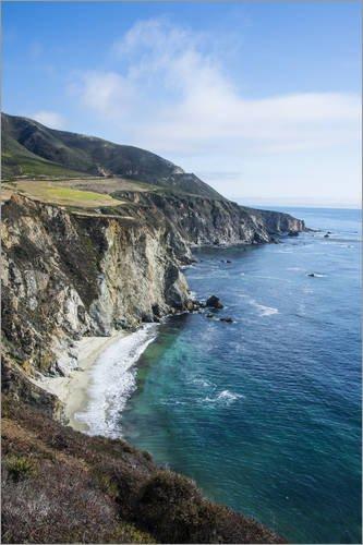 poster-40-x-60-cm-the-rocky-coast-of-the-big-sur-near-bixby-bridge-california-united-states-of-ameri