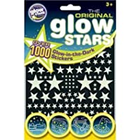 2xThe Original Glowstars - Glow-in-the-Dark Stickers, 1000 Pieces