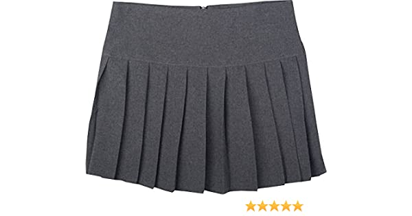 Onlyglobal Britney Spears School Uniform Short Skirts with Pleat Childrens /& Adults UK