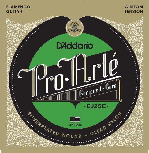 D'Addario EJ25C Saitensatz Pro-Arte Clear Nylon Composite Flamenco