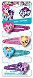 Joy Toy 95803 - My Little Pony 4 Haarspangen - auf backercard, 5 x 15 cm