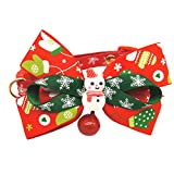 quanjucheer Puppy Dog Necktie Bowknot Christmas Collana Collare
