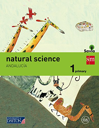 Natural science. 1 Primary. Savia. Andalucía - 9788416346295