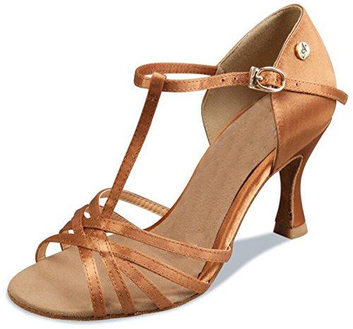 Minitoo , Salle de bal femme Brown-7.5cm Heel