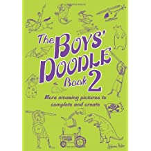 The Boys' Doodle Book 2 (Buster Books) by Andrew Pinder (8-Apr-2010) Paperback