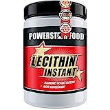 LECITHIN PULVER INSTANT, Dose 500g, instantisiertes Soja-Lecithin reich an Phosphatidyl-Cholin und Phosphatidyl-Inositol mit Vitaminen in Arzneibuchqualität