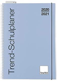 Lehrerkalender 10491 Lehrertimer Schuljahr 2020-2021 TimeTex Design-Schulplaner A4-Plus Pink Dots