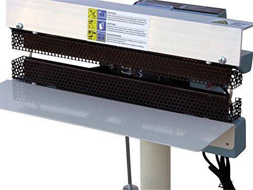 Rotek dauerbeheiztes Folienschweißgerät mit Fußbetätigung, PM-FSD-400-STEP - 4