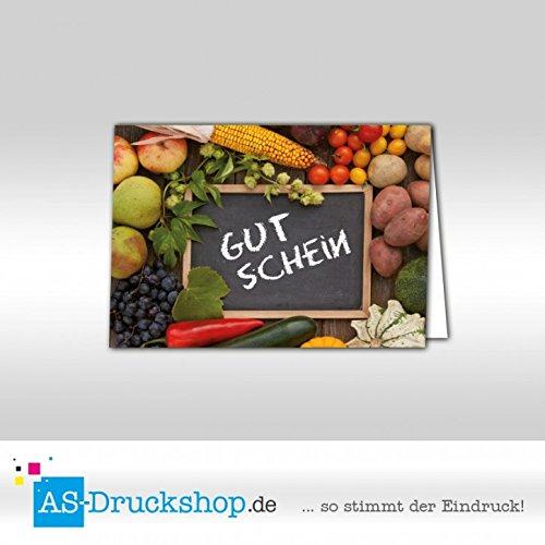 Gutschein Hofladen – Markt / 50 Stück/DIN A6
