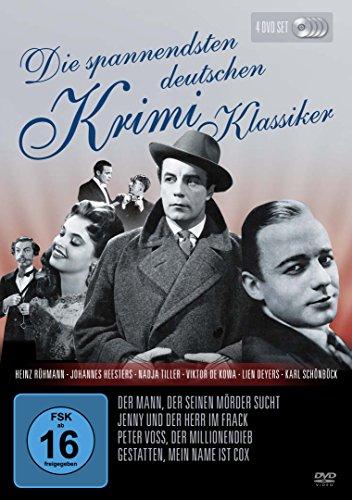 Die spannendsten deutschen Krimi-Klassiker [4 DVDs]