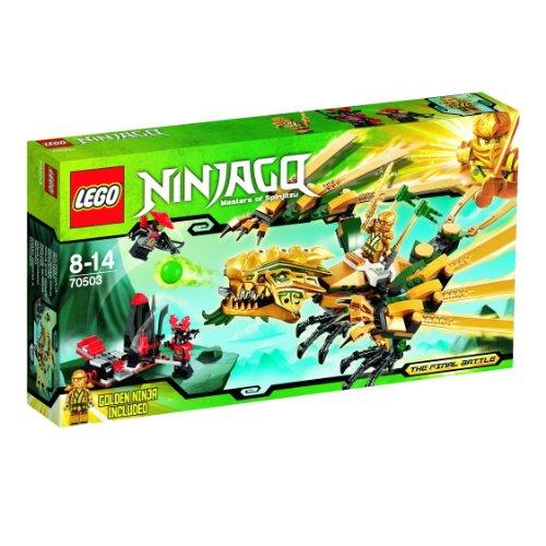 LEGO Ninjago Playthèmes - 70503 - Jeu de Construction - Le Dragon d'or