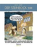 Steinbock 2018: Sternzeichen-Cartoonkalender -