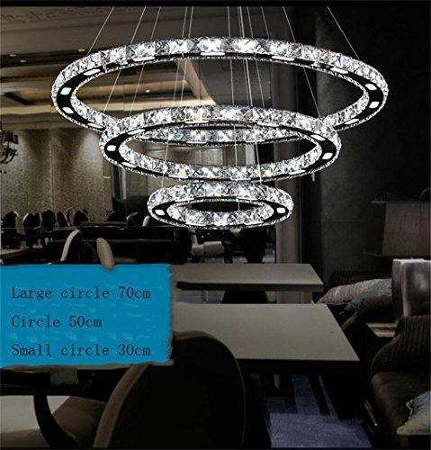 drei kreise kronleuchter led kristall kronleuchter modernen minimalistischen wohnzimmer leuchtet. Black Bedroom Furniture Sets. Home Design Ideas