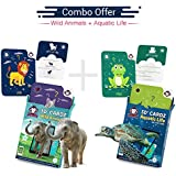 [Sponsored]Wild Animals + Aquatic Life | Summer Vacations Learning Kit | AR/VR Based Educational Toys For Kids | Age 3-10 Years | Gift Box Of 2