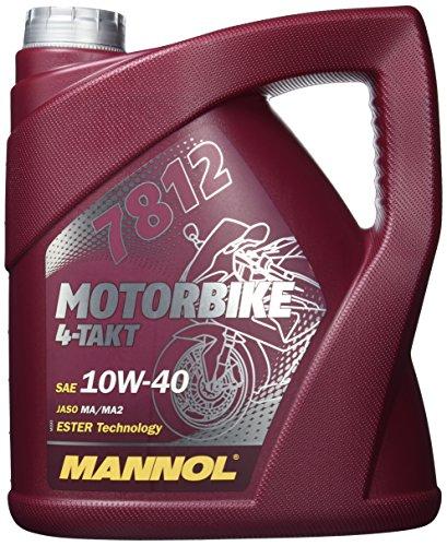 MANNOL 7812 Motorbike 4-Takt API SL, 4 Liter