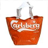 Carlsberg Borsa Shopper Maxi 'Lady' Arancione