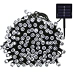Magiclux Tech 300 LED Solar String Lights, Waterproof Outdoor Fairy Lighting for Christmas, Home, Garden, Tree, Party, Holiday Decoration - Multicolour, 38ft, 8-in-1 Mode (300 Solar Color Lights) 5