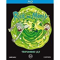 Rick & Morty - (Temporadas 1 a 3) - BD